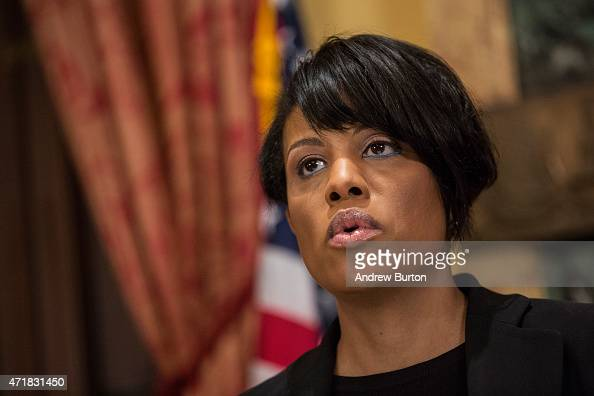 Mayor Stephanie RawlingsBlake of Baltimore speaks at a press conference after it was announced that charges will be filed against Baltimore police...