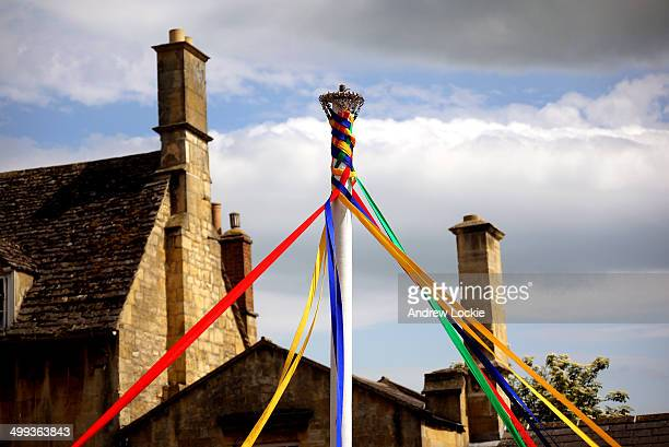 Maypole Dancing, England.