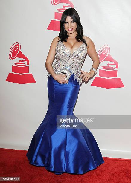 Mayra Veronica arrives at the 2014 Person of the Year honoring Joan Manuel Serrat held at The Mandalay Bay Resort and Casino at the Events Center on...