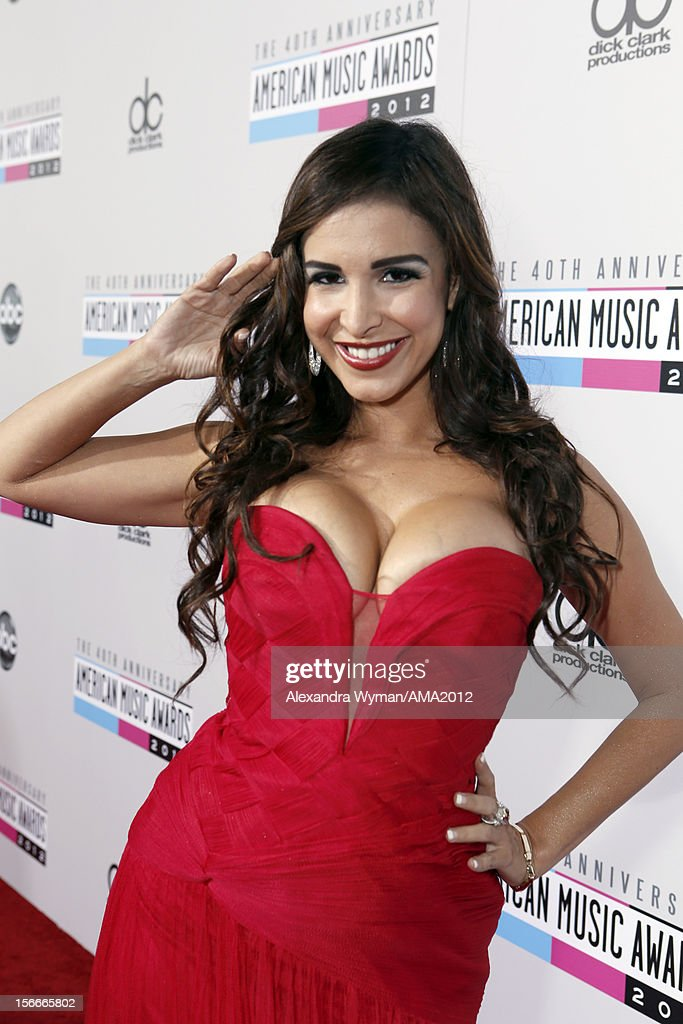 Mayra Veronica attends the 40th American Music Awards held at Nokia Theatre L.A. Live on November 18, 2012 in Los Angeles, California.