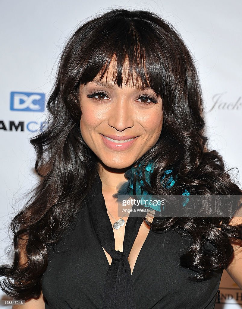 Mayte Garcia arrives to The Dream Center's 5th annual night of dreams gala at The Dream Center on October 3, 2012 in Los Angeles, California.