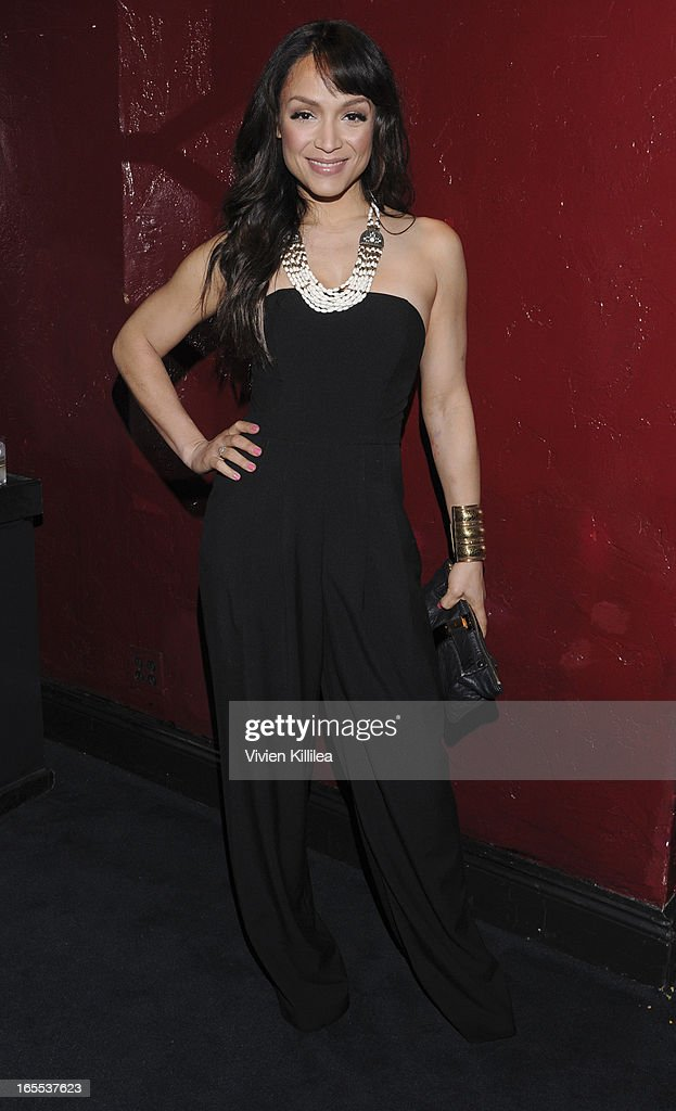Mayte Garcia attends iiJin's Fall/Winter 2013 'The Love Revolution' Clothing And Footwear Collection Fashion Show at Avalon on April 3, 2013 in Hollywood, California.