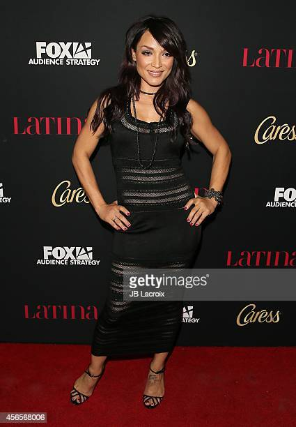 Mayte Garcia attends LATINA Magazine's 'Hollywood Hot List' party at the Sunset Tower Hotel on October 2 2014 in West Hollywood California
