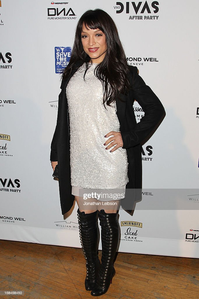 Mayte Garcia attends the at The Shrine Auditorium on December 16, 2012 in Los Angeles, California.