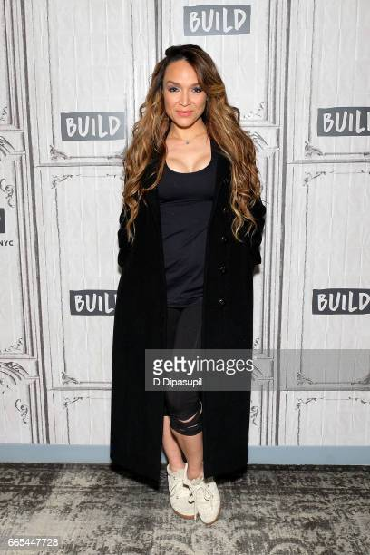 Mayte Garcia attends the Build Series to discuss 'The Most Beautiful My Life With Prince' at Build Studio on April 6 2017 in New York City