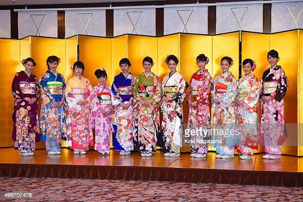 Mayuko Kawakita and Natsumi Hanaoka and Fuka Koshiba and Miyu Honda and Shioli Kutsuna and Emi Takei and Ayame Goriki and Hikaru Takahashi and Miyu...