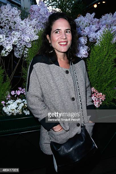 Mazarine Pingeot attends 'La Closerie Des Lilas Literary Awards 2014 7th Edition' at La Closerie Des Lilas on April 8 2014 in Paris France