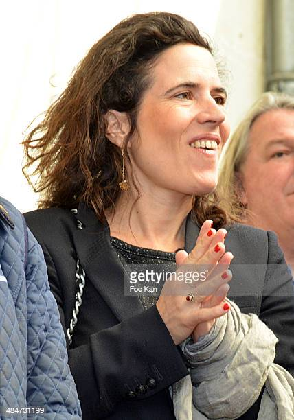 Mazarine Pingeot attends the 'Journees Nationales du Livre et du Vin 2014' At Bouvet Ladurey Cellars on April 13 2014 in Saumur France