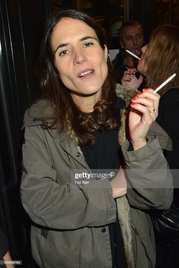 Mazarine Pingeot Mitterrand attends the 'Prix De Flore 2012' - Literary Award Ceremony Party at the Cafe de Flore on November 8, 2012 in Paris, France.