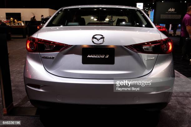 Mazda 3 is on display at the 109th Annual Chicago Auto Show at McCormick Place in Chicago Illinois on February 10 2017