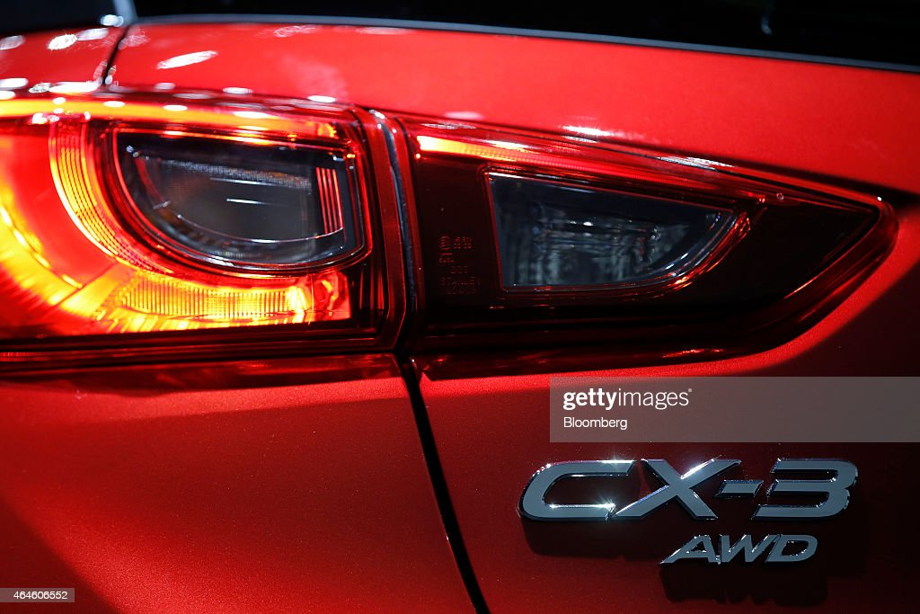 Mazda Motor Corp Ceo Masamichi Kogai Launches Cx 3