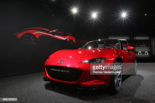Mazda At Frankfurt Motor Show Photos And Images Getty Images