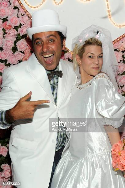 Mazdack Rassi and Jenne Lombardo attend MAC MILK host a Fashion Week Serenade at Milk Studios on February 14 2010 in New York City