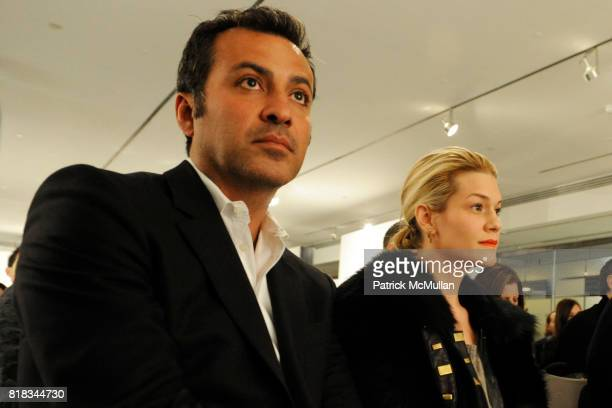 Mazdack Rassi and Jenne Lombardo attend THE BEAUTY OF HEALTH RESIZING THE SAMPLE SIZE at MILK Studios on February 9 2010 in New York City