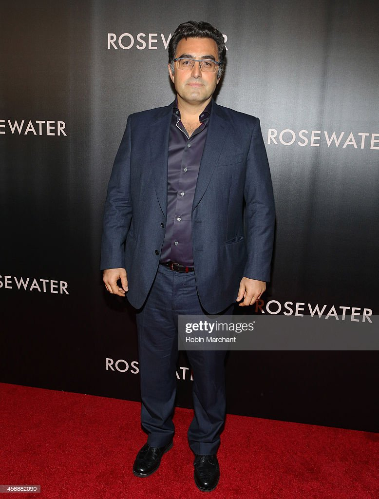 Maziar Bahari attends 'Rosewater' New York Premiere at AMC Lincoln Square Theater on November 12, 2014 in New York City.