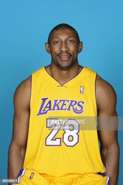 Mbenga of the Los Angeles Lakers poses for a portrait during NBA Media Day on September 29 2008 at the Toyota Sports Center in El Segundo California...