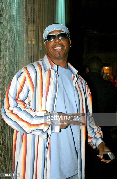 Mc Hammer during 2004 Celebrity Pool Tournament at Slate in New York United States