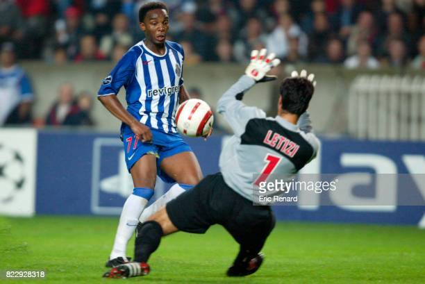 McCARTHY / Lionel LETIZI Paris Saint Germain / Porto Champions League 2004/2005