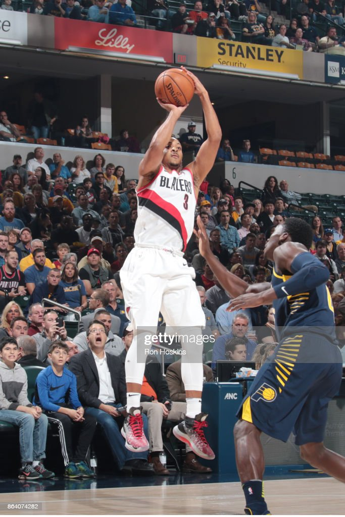 Portland Trail Blazers v Indiana Pacers