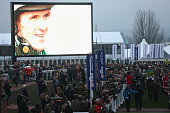 P McCoy enters the winners enclosure on Ned Buntline after finishing fourth in his last ever ride at Cheltenham before retiring at the end of the...