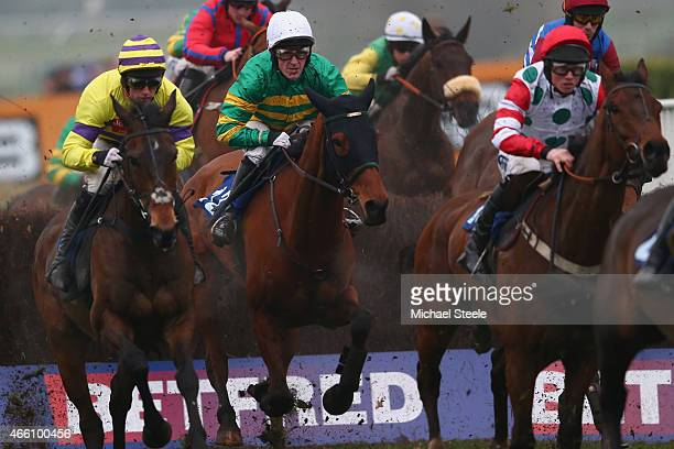 P McCoy riding Ned Buntline in his last ever ride in the APMcCoy Grand Annual Handicap Steeplechase race at Cheltenham before retiring at the end of...