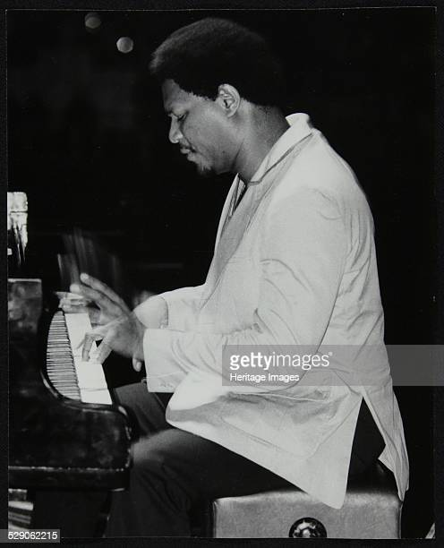 McCoy Tyner performing at the Newport Jazz Festival Ayresome Park Middlesbrough July 1978 Artist Denis Williams