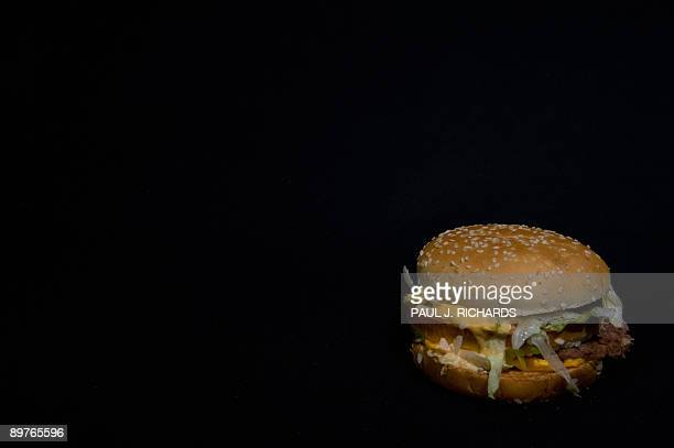 A McDonald's Big Mac is seen in this photo taken August 12 2009 in Washington DC AFP Photo/Paul J Richards