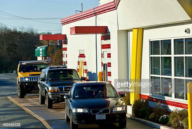 McDonalds drive thru window