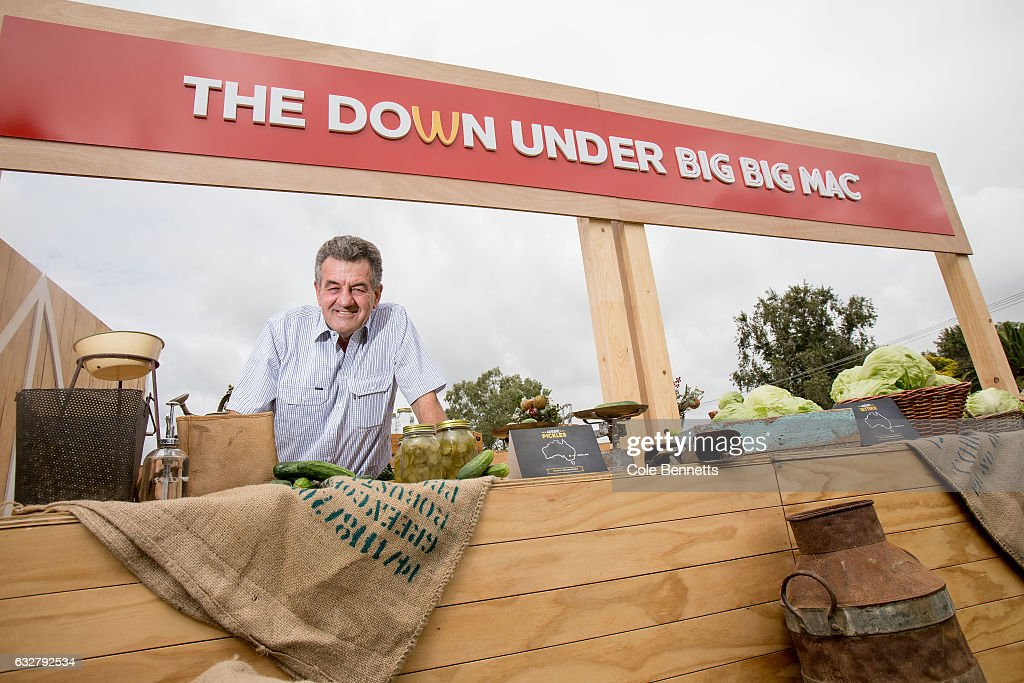 Macca's Launch Down Under Big Big Mac In Tamworth