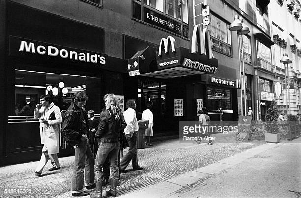 A McDonald's restaurant in Vienna Austria July 1980