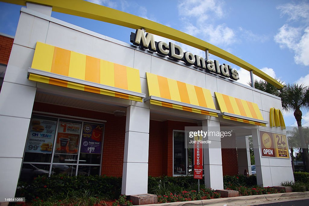 McDonald's restaurant is seen July 23 2012 in Miami Florida The company announced that 2nd quarter profit dropped 45 percent