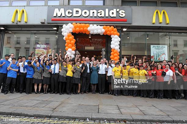 McDonald's select their Olympic Champion Crew to work in their Olympic Park restaurants at London 2012 Champion Crew Super Team selection events were...