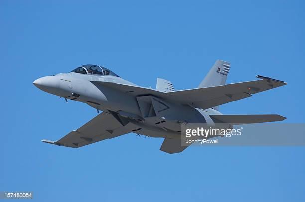 McDonnell Douglas FA-18 Hornet Military Jet.