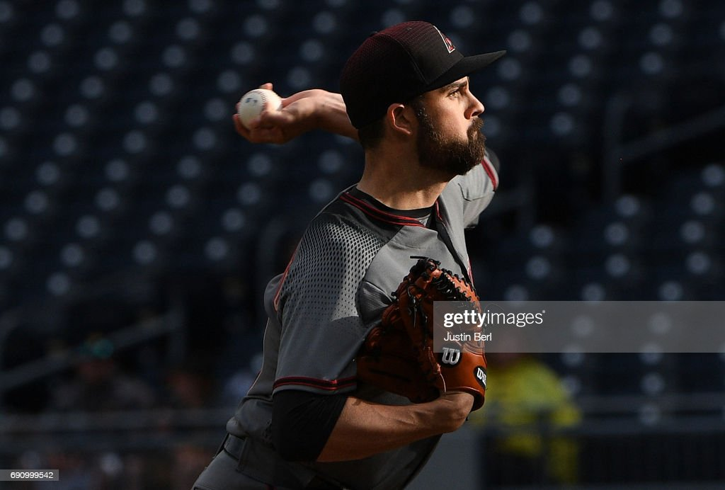 T.J. McFarland #30 of the Arizona Diamondbacks delivers a pitch in the 12th inning during the game against the Pittsburgh Pirates at PNC Park on May 31, 2017 in Pittsburgh, Pennsylvania.