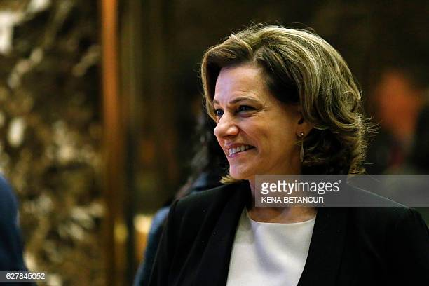 KT McFarland Presidentelect Donald Trump's selection to be deputy national security adviser steps off the elevator after meetings at Trump Tower on...