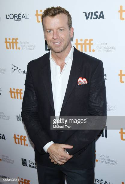 McG arrives at the premiere of Before We Go held during the 2014 Toronto International Film Festival Day 9 on September 12 2014 in Toronto Canada
