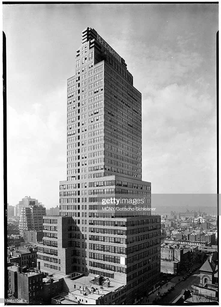 McGraw Hill Buidling Located At 330 West 42nd Street, NYC. McGraw Hill Design Inspirations