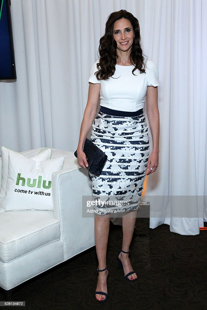 Mchaela Watkins attends the 2016 Hulu Upftont - Green Room on May 04, 2016 in New York, New York.