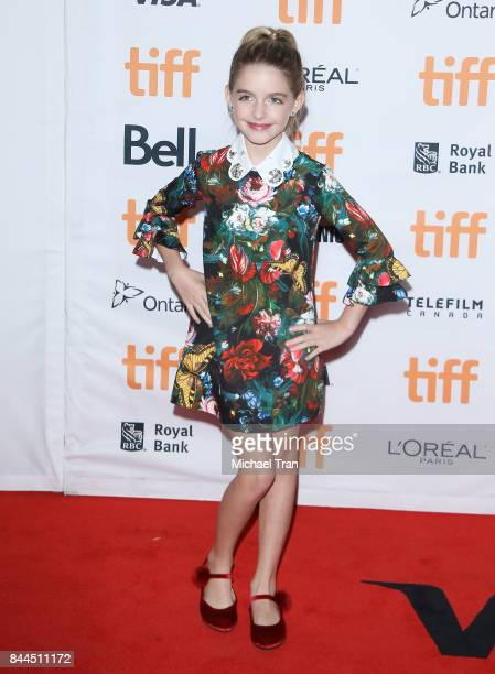 Mckenna Grace arrives to the 'I Tonya' premiere 2017 TIFF Premieres Photo Calls and Press Conferences held on September 8 2017 in Toronto Canada