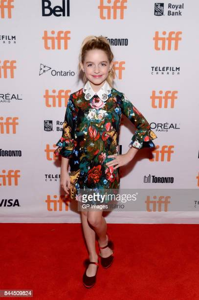 Mckenna Grace attends the 'I Tonya' premiere during the 2017 Toronto International Film Festival at Princess of Wales Theatre on September 8 2017 in...