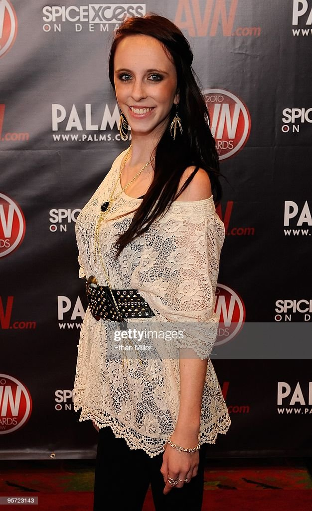 McKenna Taylor, daughter of adult film legend Marilyn Chambers, arrives at the 27th annual Adult Video News Awards Show at the Palms Casino Resort January 9, 2010 in Las Vegas, Nevada.