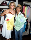 McKenzie Westmore and Cathy Jeneen Doe during Elahn Boutique Kicks off Summer Fashion Cocktail Party at Elahn Boutique in Studio City California...