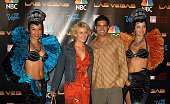 McKenzie Westmore and Galen Gering during NBC Series Las Vegas World Premiere Event Party at The Highlands in Hollywood California United States