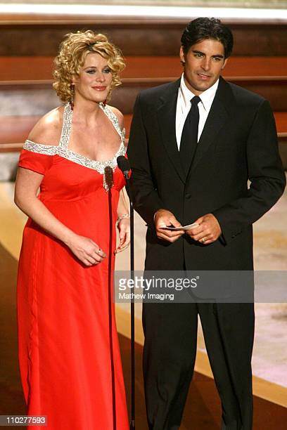 McKenzie Westmore and Galen Gering presenters during 33rd Annual Daytime Emmy Awards Show at Kodak Theater in Hollywood California United States