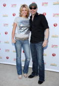 McKenzie Westmore and singer Seven Williams attend 'Child Hunger Ends Here' neighborhood celebrity rally on Wisteria Lane at NBC Universal lot on...