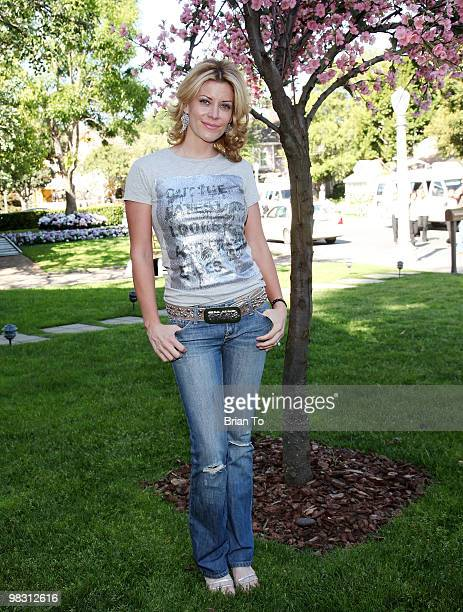 McKenzie Westmore attends 'Child Hunger Ends Here' neighborhood celebrity rally on Wisteria Lane at NBC Universal lot on April 7 2010 in Universal...