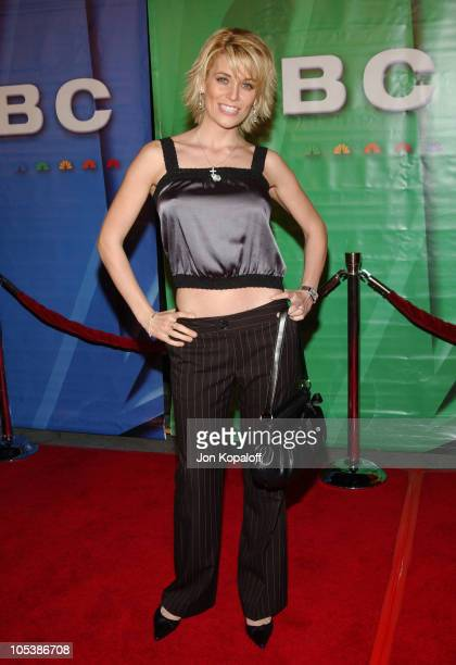 McKenzie Westmore during 2005 NBC Winter TCA All Star Party at Hard Rock Cafe in Universal City California United States