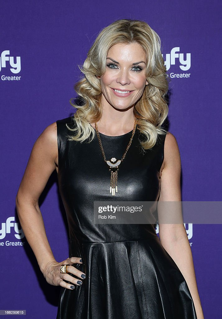 McKenzie Westmore of 'Face Off' attends Syfy 2013 Upfront at Silver Screen Studios at Chelsea Piers on April 10, 2013 in New York City.