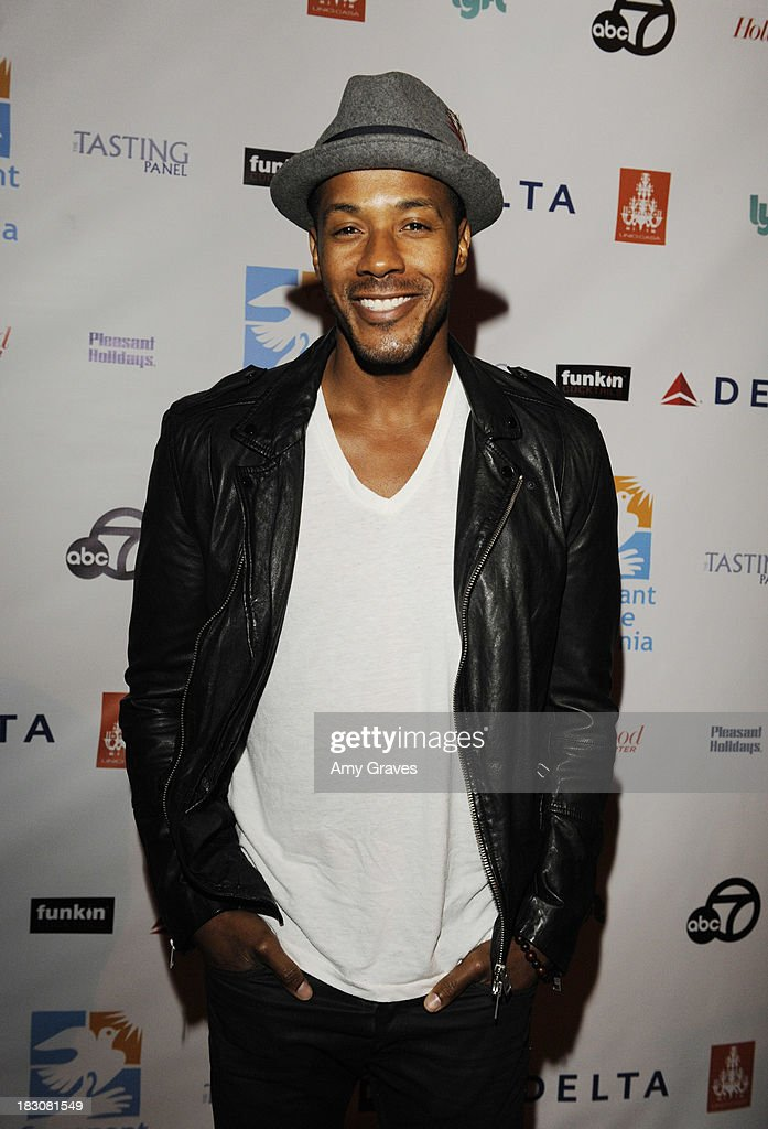 McKinley Freeman attends Covenant House California's All-Star Mixology Competition at Unici Casa Gallery on October 3, 2013 in Culver City, California.