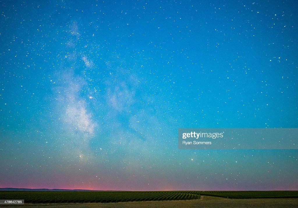 McKinley Springs Milky Way : Stock Photo